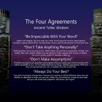 """""""The Four Agreements Poster"""" by spadecaller"""