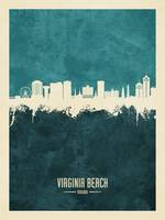 Virginia Beach Virginia Skyline