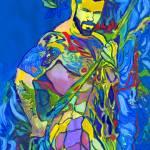 Aquarian the Sea Monster by RD Riccoboni by RD Riccoboni