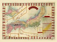 Map of Japan (1888)