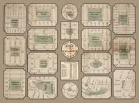 Public squares and park of New York 1852