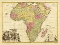 Map of Africa by John Senex (1725)
