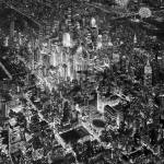 Above New York City, Black And White by RD Riccoboni