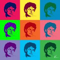 Michael Jackson | Pop Art Art Prints & Posters by William Cuccio
