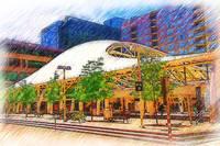Denver Transit Center Architecture by Kirt Tisdale