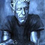 Blue Anthony Bourdain  Prints & Posters