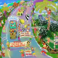 Lanikai Woes Parade Art Prints & Posters by Michael Ives