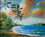 Sailing the Inlet by Mazz Original Paintings