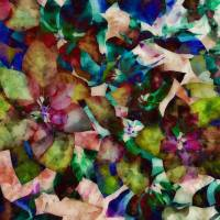 Tissue Paper Poinsettias by Through The Split Window
