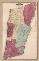 Yonkers map 1868