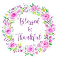 Blessed & Thankful Wreath
