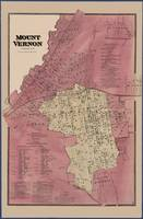 Mount Vernon, Westchester Co. NY Map  1868