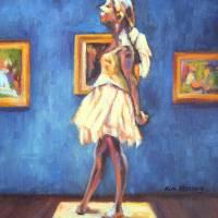 Degas's Little Dancer Art Prints & Posters by Kim Stenberg