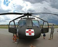 Front End of a Medevac Blackhawk