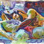 Afternoon Nap painting by RD Riccoboni