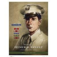 """Bryant, Homer D, US Army"" by ChrisPelicano"