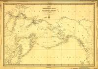 Northern Pacific Ocean Map (1844)
