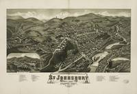 Aerial View of St. Johnsbury, Vermont (1884)