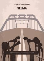No1246 My Selma minimal movie poster