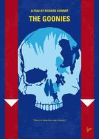 No1240 My The Goonies minimal movie poster-2