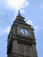 Big Ben From Below