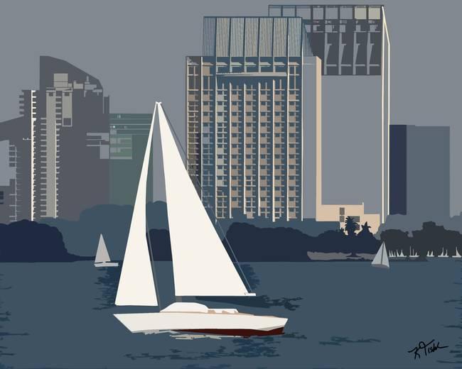 San Diego Bay Sailing
