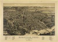 Bird's Eye View of Knoxville, Tennessee (1886)