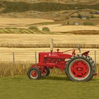 """""""Tractor-24x30-FINAL"""" by Tim"""