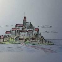 """""""Mont Saint Michel"""" by gcr"""