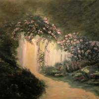 In the Garden by Sandy Mauck