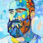 Bear, Portrait of a Man by RD Riccoboni