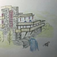 """""""Fallingwater"""" by gcr"""