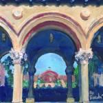 Arches Balboa Park Colonnade San Diego by RD Riccoboni