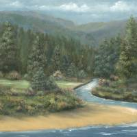 RIVER IN THE PINES by Sandy Mauck