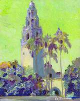 Balboa Park Chartreuse - California Tower