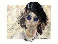 John Lennon as Imagined