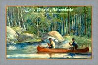 Lake Placid Adirondacks Travel Poster