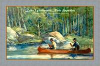 Lake Wentworth New Hampshire Travel Poster