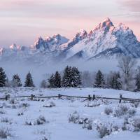 Winter Daybreak Art Prints & Posters by David Kocherhans