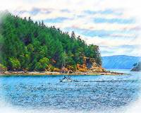 Sailing In The Pacific Northwest by Kirt Tisdale