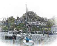 Boat Moorings by Kirt Tisdale