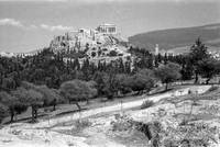 Athenian Acropolis, View from the Pnyx, 1959 by Priscilla Turner