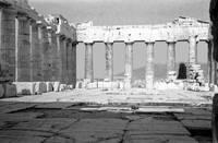 Inside the Parthenon, 1959 by Priscilla Turner
