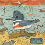 Kingfisher by Ann Huey