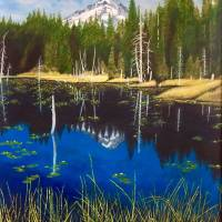 Mt-Hood-Reflections Art Prints & Posters by Don Griffith