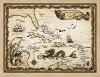 caribbean-chart_redman-giclee-file by Savanna Redman