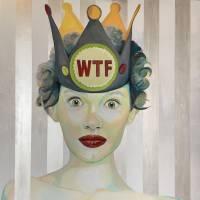 WTF Art Prints & Posters by Karen Jones