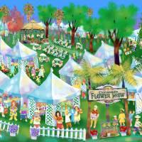 Coronado Flower Show Art Prints & Posters by Michael Ives