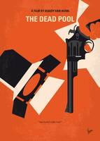 No1267-5 My Dirty Harry The Dead Pool minimal movi