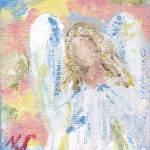 Colorful Angel by Nancy Shewchuk